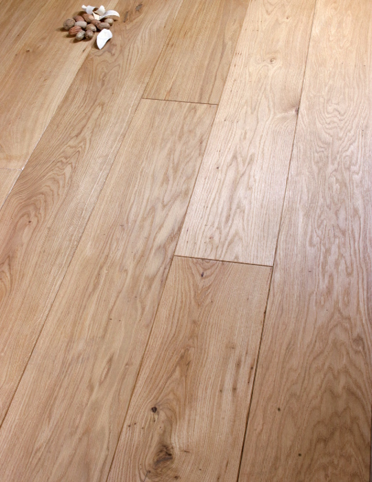 180mm Solid Rustic Oak Oiled