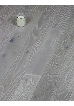 Grey Engineered Oak Flooring