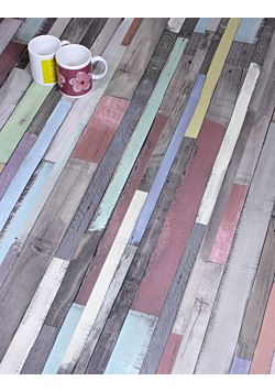 Multi Coloured Laminate Flooring