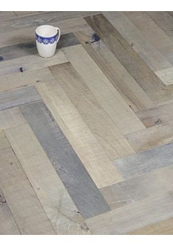 Reclaimed Herringbone flooring