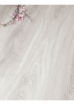 Light grey Oak laminate Flooring