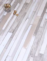 Rustic white grey laminate flooring